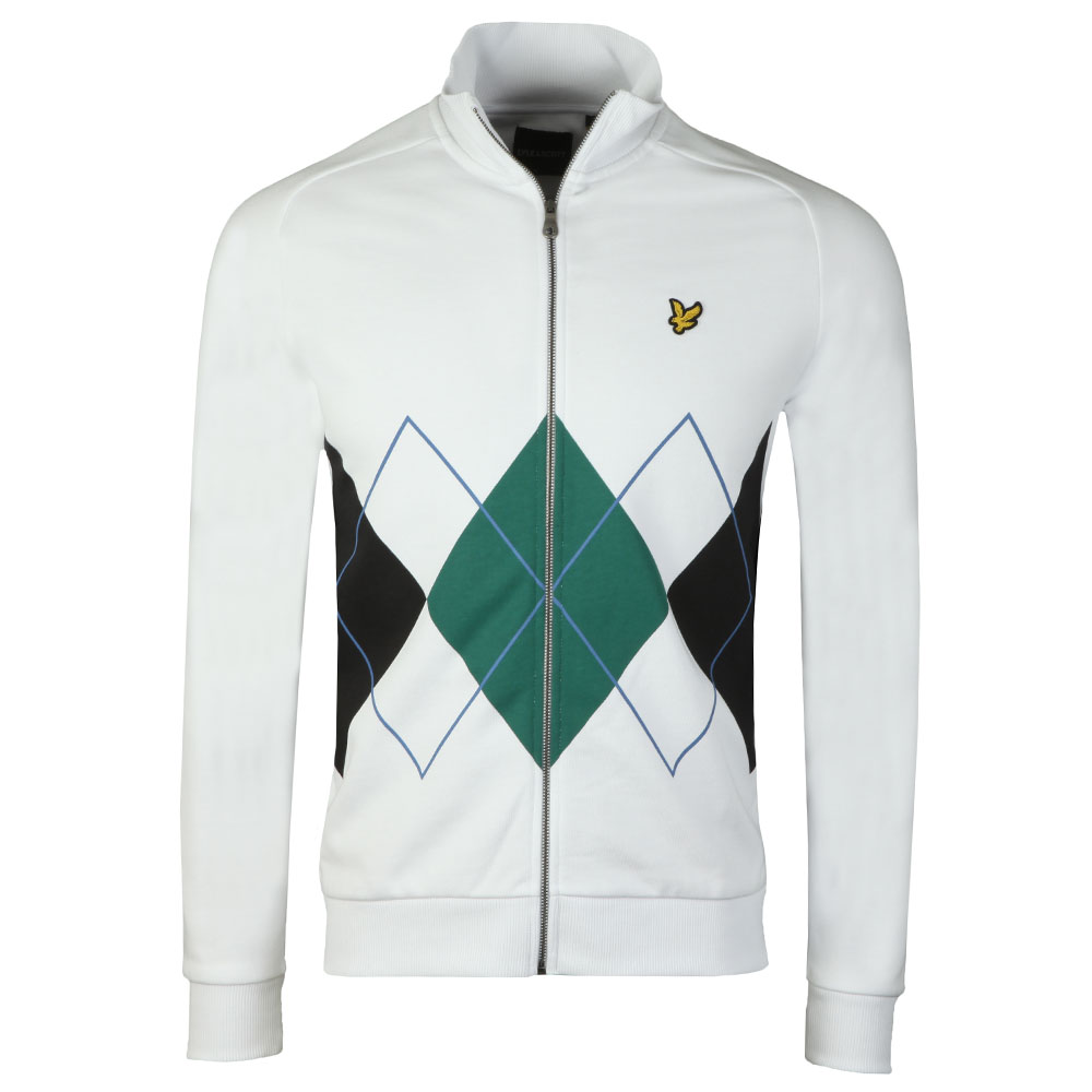 Argyle Zip Sweat main image