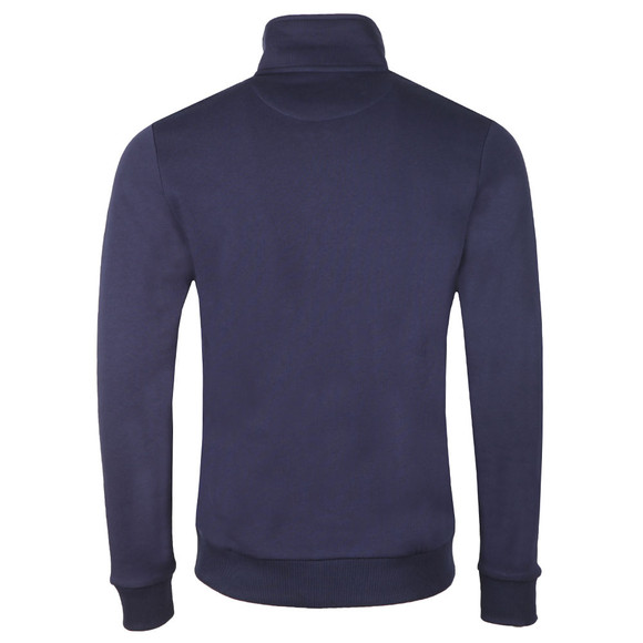 Lyle and Scott Mens Blue 1/4 Zip Sweat main image