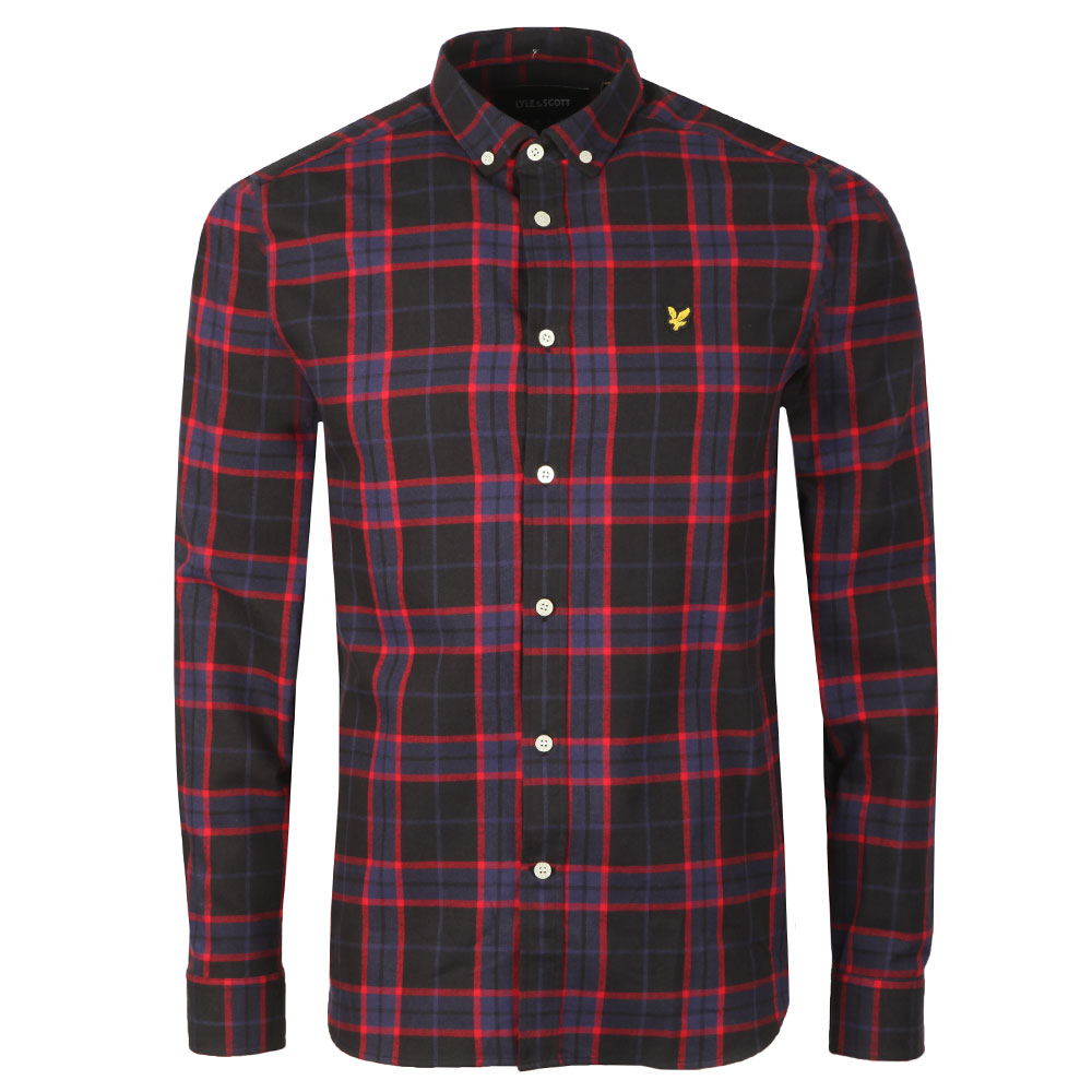 L/S Check Flannel Shirt main image