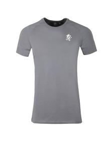 Gym King Mens Grey S/S Core Plus Tee