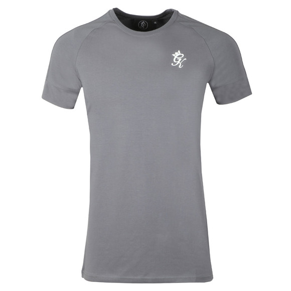 Gym King Mens Grey S/S Core Plus Tee main image