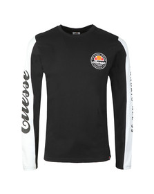 Ellesse Mens Grey Mainardo L/S Tee