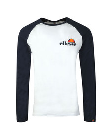 Ellesse Mens White L/S Thero Tee