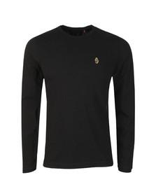 Luke 1977 Mens Black Long Traff LS T-Shirt