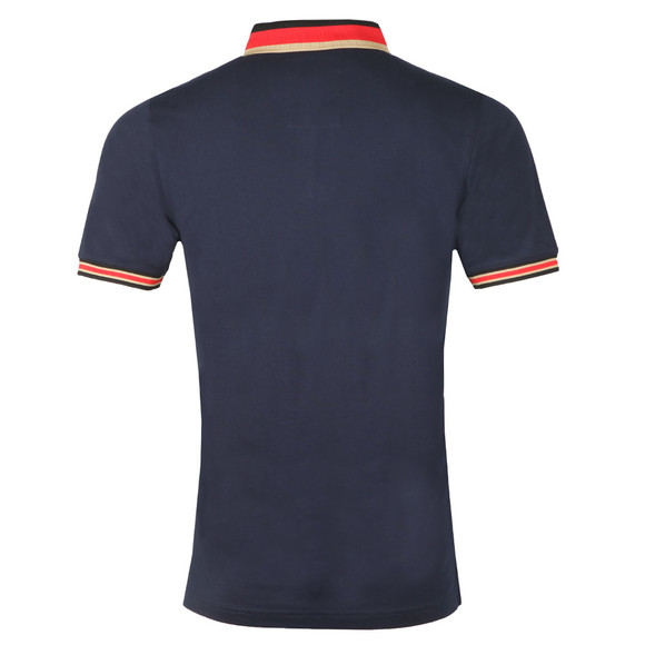 Luke Mens Blue Percyville Polo main image