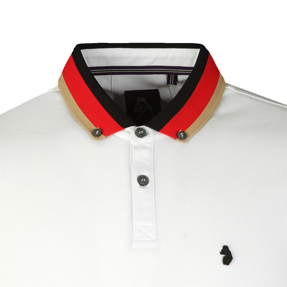 Luke Mens White Percyville Polo main image