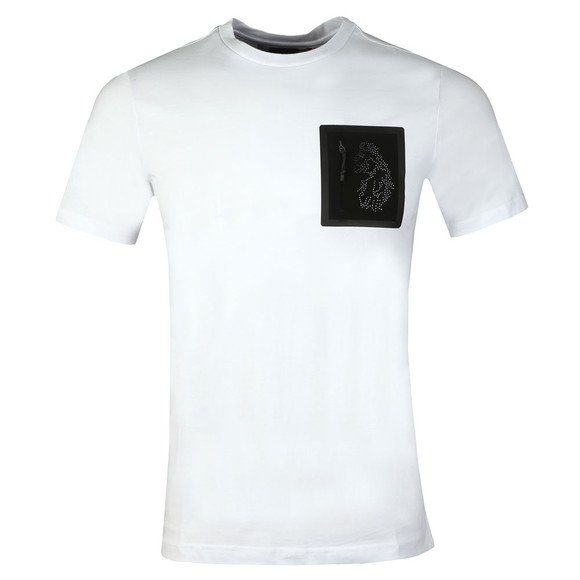 Luke Sport Mens White Lazer Crew T-Shirt main image