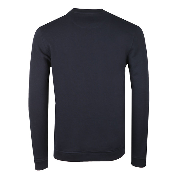 Ted Baker Mens Blue Branded Anniversary Sweat main image