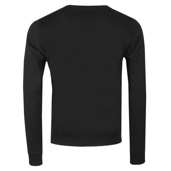 Replay Mens Black Logo Stripes Sweatshirt main image