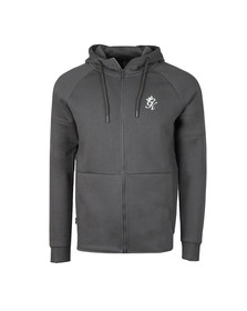 Gym King Mens Grey Core Plus Track Top
