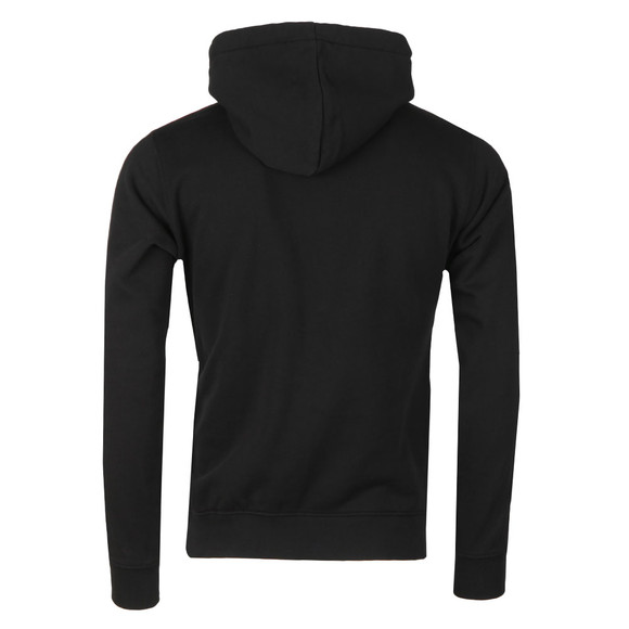 Replay Mens Black Logo Stripes Hoody main image