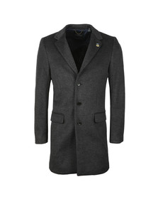 Scotch & Soda Mens Grey Classic 3 Button Coat