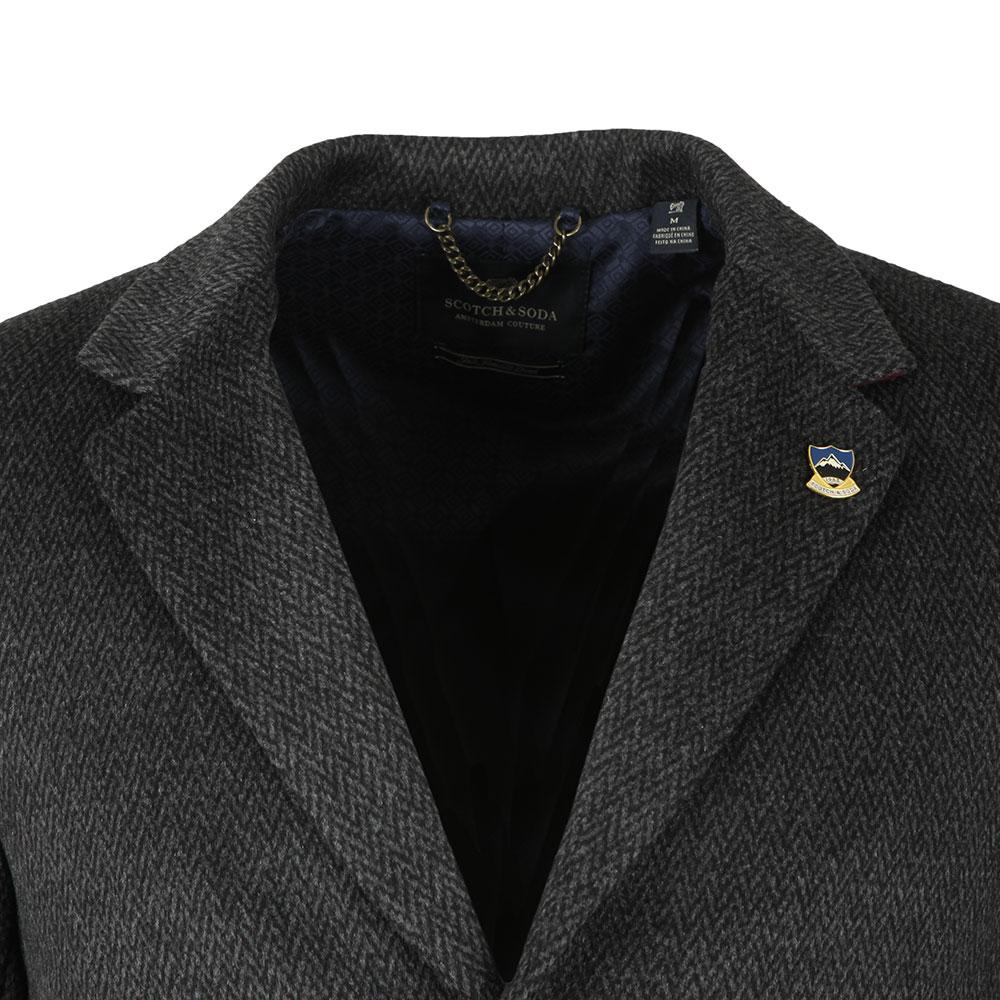 Classic 3 Button Coat main image