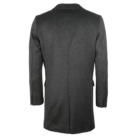 Scotch & Soda Mens Grey Classic 3 Button Coat main image