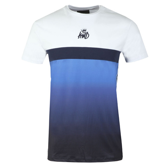 Kings Will Dream Mens Blue Liverton Sub Fade Tee main image