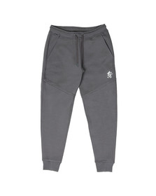 Gym King Mens Grey Core Plus Track Bottoms