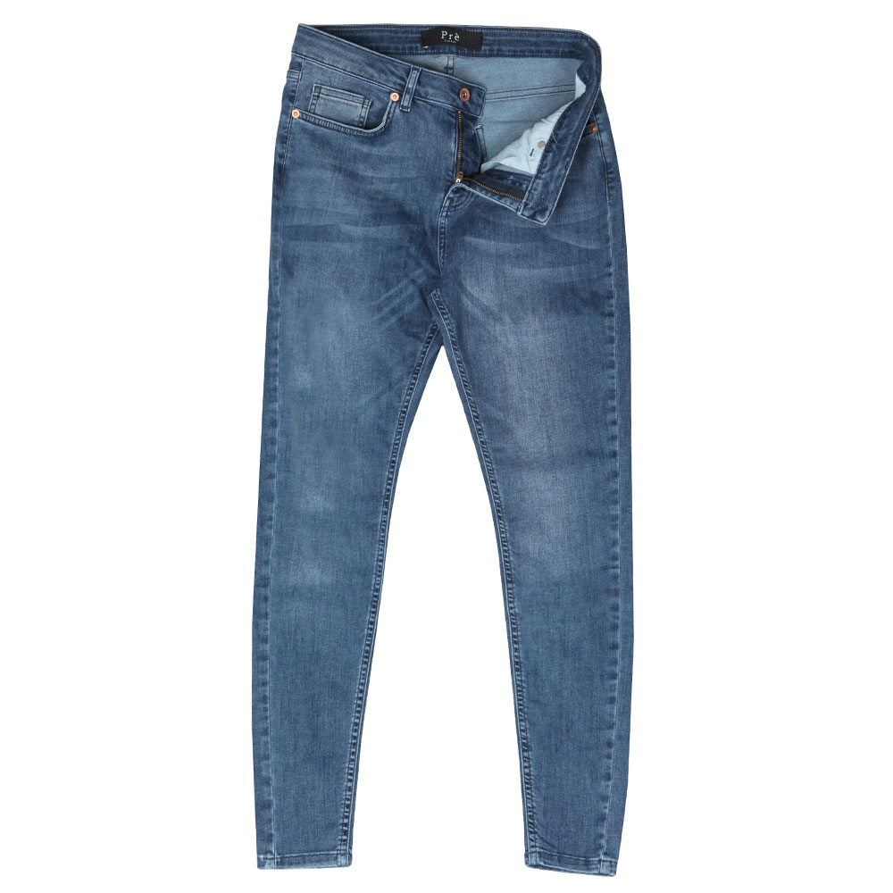Non Ripped Skinny Jean main image