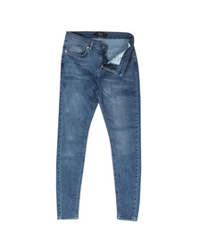 Pre London Mens Blue Non Ripped Skinny Jean