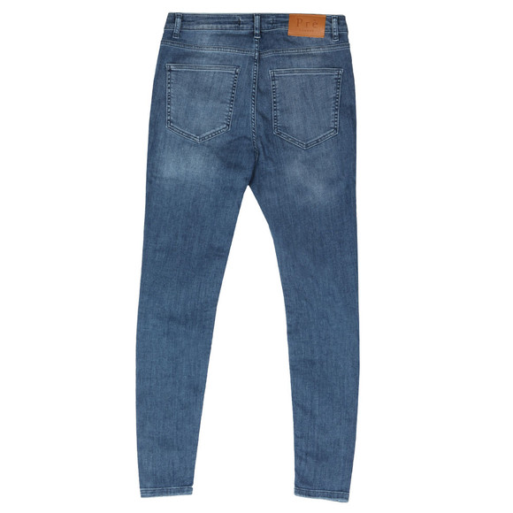 Pre London Mens Blue Non Ripped Skinny Jean main image