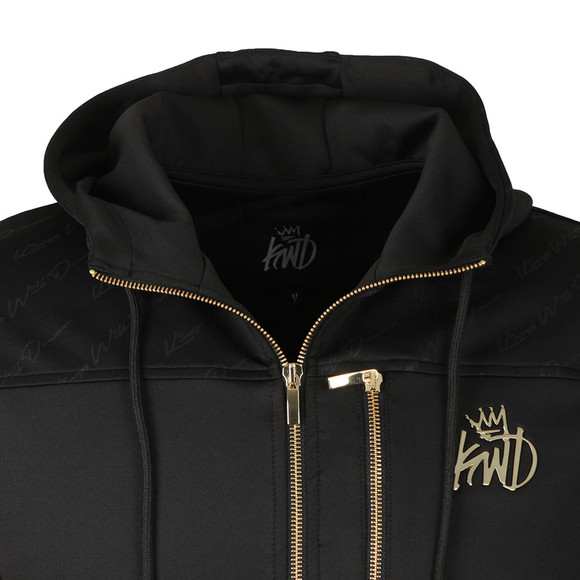 Kings Will Dream Mens Black Crowther Full Zip Hood main image