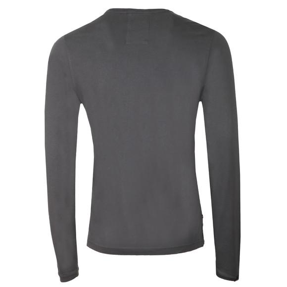 Luke Mens Grey Long Traff LS T-Shirt main image