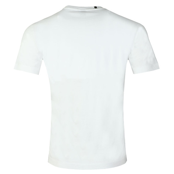 Replay Mens White Compact Cotton T-Shirt main image