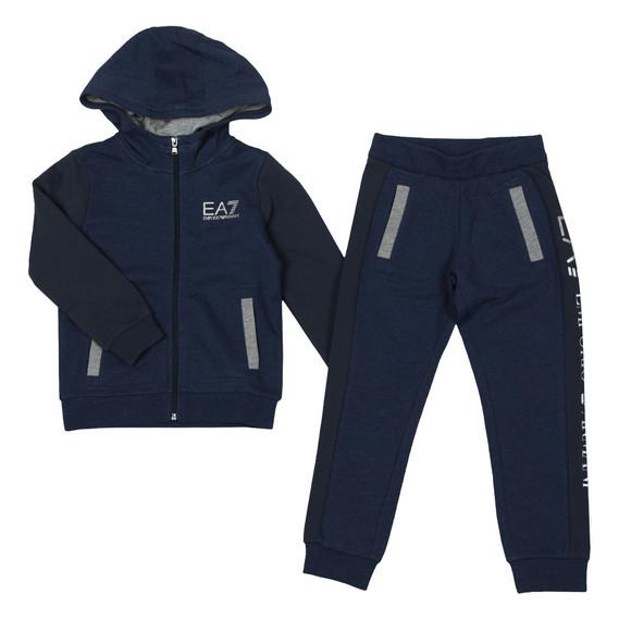 EA7 Emporio Armani Boys Blue 6ZBV55 Tracksuit main image