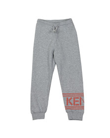 Kenzo Kids Girls Grey Logo Joggers