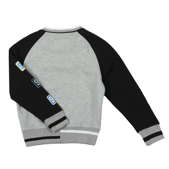 Hackett Boys Grey AMR Raglan Sweat main image