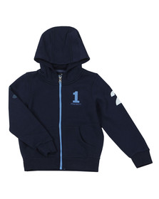 Hackett Boys Blue Boys Number Hoody