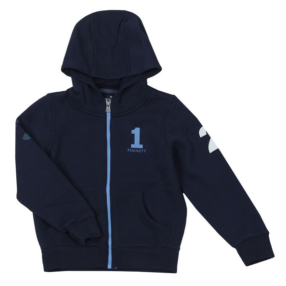 Hackett Boys Blue Boys Number Hoody main image
