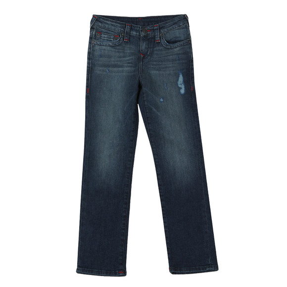 True Religion Boys Drilled Blue True Religion Boys Jack Jean