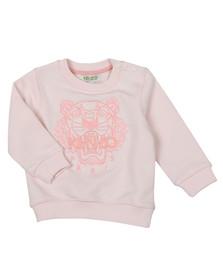 Kenzo Baby Girls Pink Tiger Sweatshirt