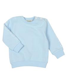 Kenzo Baby Boys Blue Logo Sweatshirt