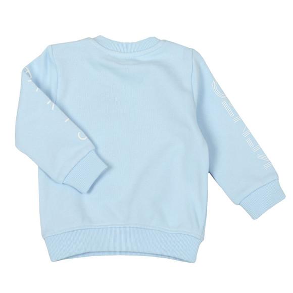 Kenzo Baby Boys Blue Logo Sweatshirt main image