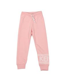 Kenzo Kids Girls Pink Logo Sweatpant