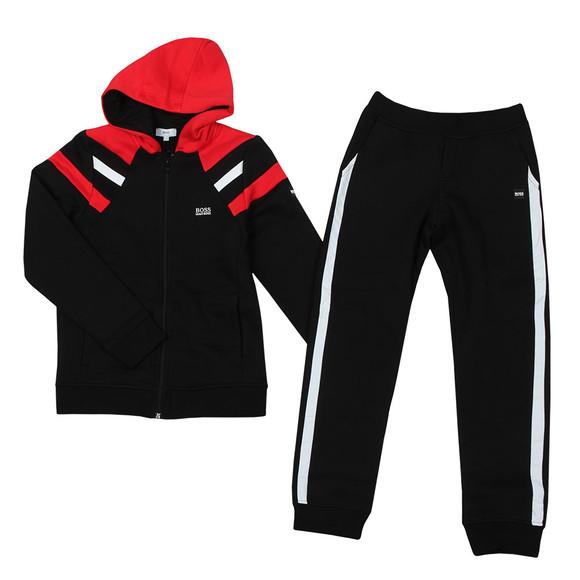 BOSS Bodywear Boys Black J28061 Tracksuit main image