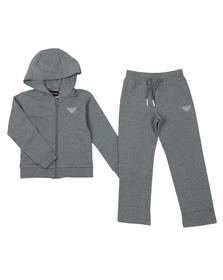 Emporio Armani Boys Grey Small Logo Tracksuit