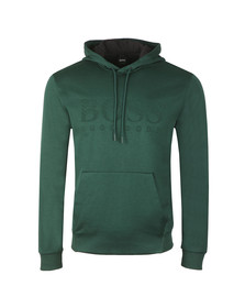 BOSS Mens Green Athleisure Soody Hoody