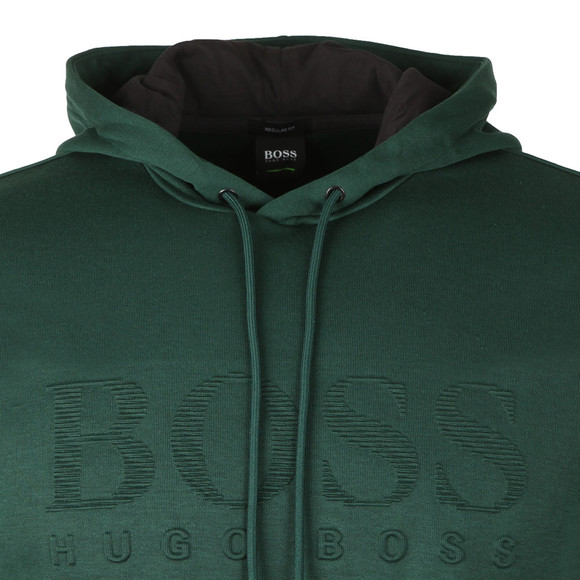 BOSS Mens Green Athleisure Soody Hoody main image