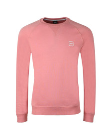 BOSS Mens Pink Casual Wyan Sweatshirt