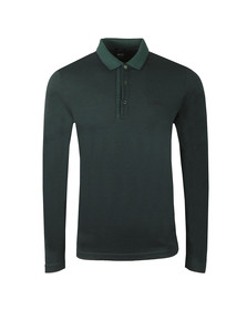 BOSS Mens Green Athleisure Pleesy 4 Polo Shirt