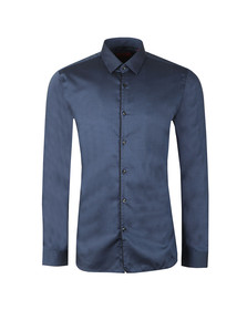 HUGO Mens Blue Esmo Shirt