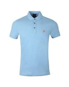 BOSS Mens Blue Casual Passenger Polo Shirt