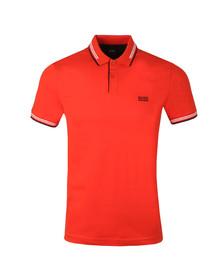 BOSS Mens Orange Athleisure Paul Polo Shirt
