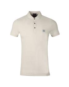 BOSS Mens Grey Casual Passenger Polo Shirt
