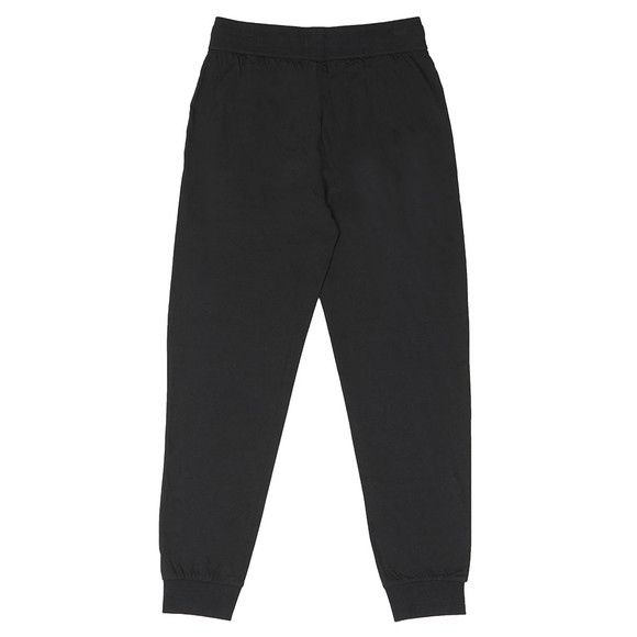 BOSS Bodywear Mens Black White Logo Sweatpant main image