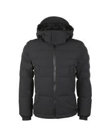 BOSS Mens Black Casual Orteel Padded Jacket