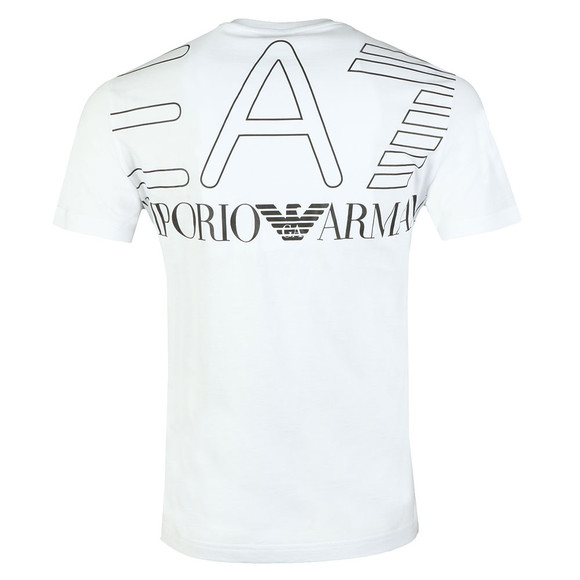 EA7 Emporio Armani Mens White 6ZPT27 T Shirt main image