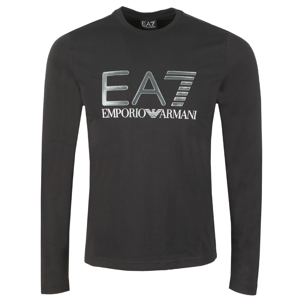 Large Chest Logo Long Sleeve T Shirt main image